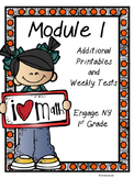 Engage NY, DIGITAL and Paper Printables and Weekly Tests,