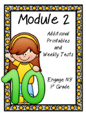 Engage NY, DIGITAL and Paper Printables and Weekly Tests, Module 2, 1st Grade