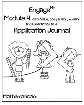 First Grade Application Problem Journals Bundle
