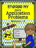 Engage NY Application Word Problems - 2nd Grade - In Spanish