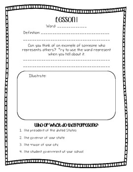 Engage NY Domain 5 The War of 1812 Word Work 2nd Grade FREEBIE