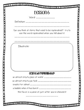 Engage NY Domain 6 Cycles in Nature Word Work 2nd Grade FREEBIE