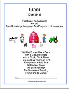 Engage NY-- Domain Packets (1-6) -- Kindergarten Bundle