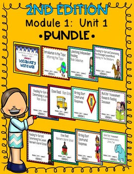 Engage NY Expeditionary Learning 3rd Grade 2nd Edition Module1 Unit1 BUNDLE
