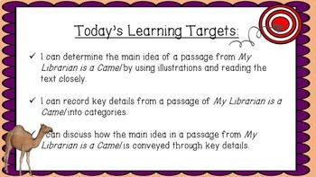 Engage NY Expeditionary Learning 3rd grade M1U3 Lessons 6-11 PowerPoint Lessons