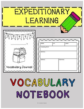 Engage NY EL Vocabulary Journal