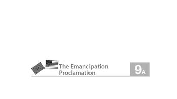 Engage NY ELA 2nd Grade Module 9 Civil War L9 The Emancipation Proclomation