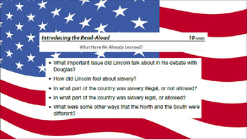 Engage NY ELA 2nd Grade Module 9 Civil War Lesson 5 The Division of the U.S.