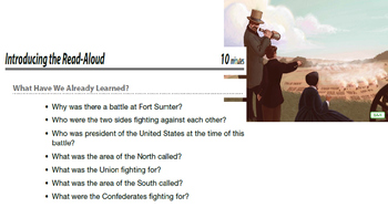 Engage NY ELA 2nd Grade Module 9 Civil War Lesson 6 The War Begins