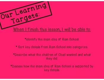 Engage NY ELA- 3rd Grade, Lesson 2, Module 1