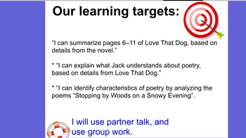 Engage NY ELA 4th grade module 1B Unit 1 Lesson 3
