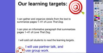 Engage NY ELA 4th grade module 1B Unit 2 Lesson 1