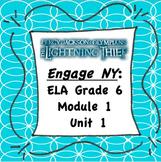 EngageNY ELA 6 Module 1 Unit 1 {Editable} Handouts (The Lightning Thief)