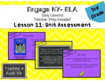 Engage NY ELA, Grade 3, Module 1, Unit 1, Lesson 11 (Unit Assessment)