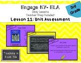 Engage NY ELA, Grade 3, Module 1, Unit 1, Lesson 11 (Unit