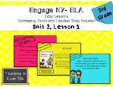 Engage NY ELA, Grade 3, Module 1, Unit 2, Lesson 1