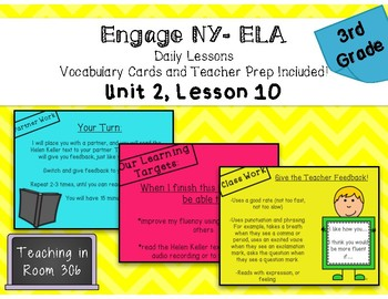 Engage NY ELA, Grade 3, Module 1, Unit 2, Lesson 10 (Unit Assessment)