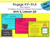Engage NY ELA, Grade 3, Module 1, Unit 2, Lesson 10 (Unit