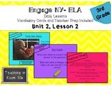 Engage NY ELA: Grade 3, Module 1, Unit 2, Lesson 2