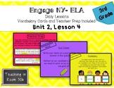 Engage NY ELA, Grade 3, Module 1, Unit 2, Lesson 4