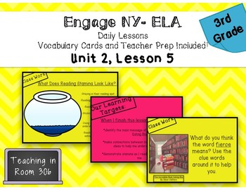 Engage NY ELA, Grade 3, Module 1, Unit 2, Lesson 5