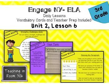 Engage NY ELA, Grade 3, Module 1, Unit 2, Lesson 6