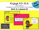 Engage NY ELA, Grade 3, Module 1, Unit 2, Lesson 8