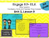Engage NY ELA, Grade 3, Module 1, Unit 2, Lesson 9