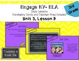 Engage NY ELA, Grade 3, Module 1, Unit 3, Lesson 9