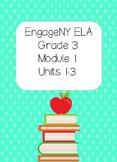 Engage NY ELA, Grade 3, Module 1, Units1- 3,The Power of Books Around the World