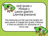 Engage NY ELA Grade 3 Module 2 Standards