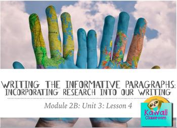 Engage NY ELA: Grade 3: Module 2B: Unit 3: Lesson 4