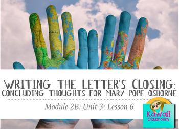 Engage NY ELA: Grade 3: Module 2B: Unit 3: Lesson 6