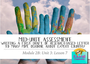 Engage NY ELA: Grade 3: Module 2B: Unit 3: Lesson 7