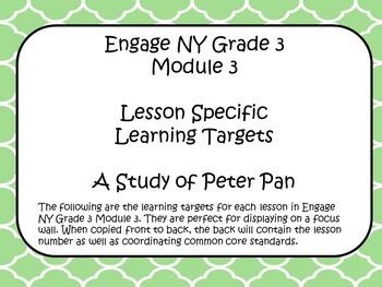 Engage NY ELA Grade 3 Module 3 Standards
