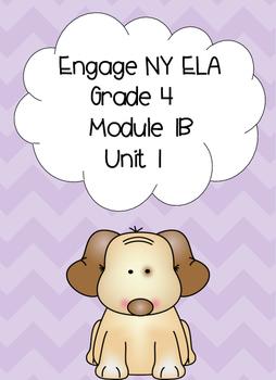 Engage NY ELA, Grade 4, Module 1b, Unit 1, Love That Dog