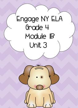 Engage NY ELA, Grade 4, Module 1b, Unit 3, Love That Dog