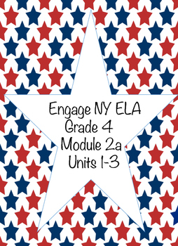 Engage NY ELA, Grade 4, Module 2a, Colonial America