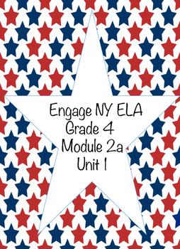 Engage NY ELA Grade 4, Module 2a, Unit 1, Colonial America
