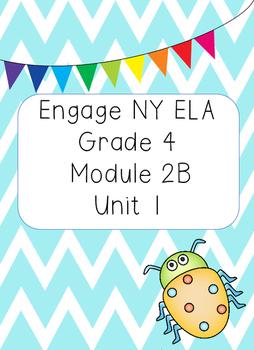 Engage NY ELA Grade 4, Module 2b Unit 1, Animal Defenses