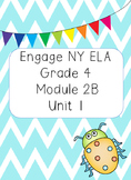 Engage NY ELA Grade 4, Module 2b Unit 1, Animal Defenses