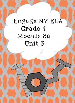 Engage NY ELA Grade 4, Module 3a Unit 3, Simple Machines