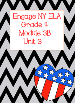 Engage NY ELA Grade 4, Module 3b Unit 3