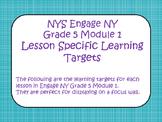 Engage NY ELA Grade 5  Module 1 Standards