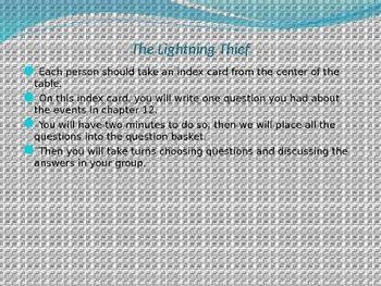 Engage NY ELA Grade 6 Module 1 Unit 2 Lesson 3--The Lightning Thief
