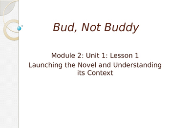 Bud not buddy module teaching resources teachers pay teachers not engage ny ela grade 6 module 2a unit 1 lesson 1 bud not publicscrutiny Choice Image