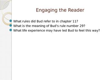 Engage NY ELA Grade 6 Module 2A Unit 1 Lesson 18--Bud, Not Buddy