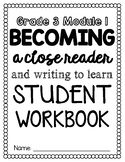 Engage NY ELA Module 1 Grade 3 Student Friendly Workbook Pages