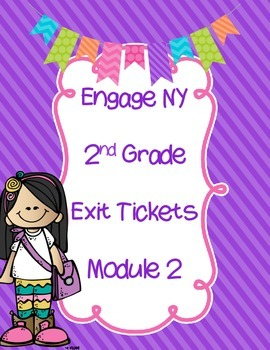 FREEBIE -Engage NY EXIT Tickets-  Module 2  Journals- Inte