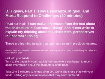 Engage NY Esperanza Rising Lesson 12